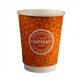 Διπλότοιχο 16oz ποτήρι χάρτινο (double wall, εκτύπωση με το λογότυπο σας)