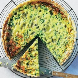 QUICHE LORRAINE BLUE CHEESE ΚΟΥΝΟΥΠΙΔΙ 115gr