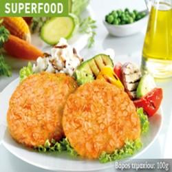 Crispy μπιφτέκι λαχανικών 100gr