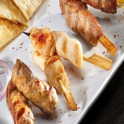 Μίνι Σουβλάκι Κοτόπουλο Χειροποίητο 30gr (100τμχ)