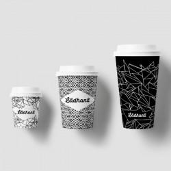 Ποτήρι χάρτινο ζεστού ροφήματος 4oz (εκτύπωση με το λογότυπο σας)