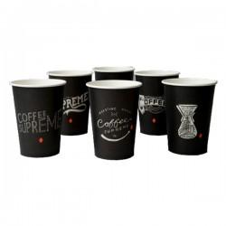 Ποτήρι χάρτινο 16oz ζεστού ροφήματος (εκτύπωση με το λογότυπο σας)