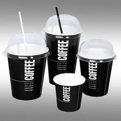 Ποτήρι χάρτινο 8oz ζεστού και κρύου ροφήματος (εκτύπωση με το λογότυπο σας)